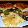 Lemon Pepper Chicken Panini