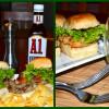 Super Bowl Sliders - Bronco Burger - Seattle Salmon
