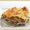 Asparagus Ham Lasagna