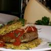 Italian Spaghetti-Meatball Burger