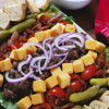 Bacon Cheeseburger Cobb Salad