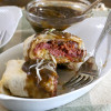 Rueben Burritos with Guinness Gravy