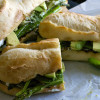Grilled Asparagus Goat Cheese Sandwich