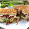 Asparagus Pesto Chicken Sandwich