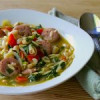 Chicken Sausage Orzo Soup