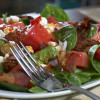 Spinach Watermelon Salad
