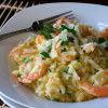 Asiago Shrimp Risotto