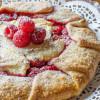 Raspberry Cheesecake Galette