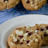 Cranberry Almond Bakery Cookies