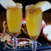 Alcohol Free Caramel Apple Mimosa