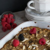 Double Berry Breakfast Bake