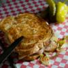 Grilled Turkey Pepperoncini Melt