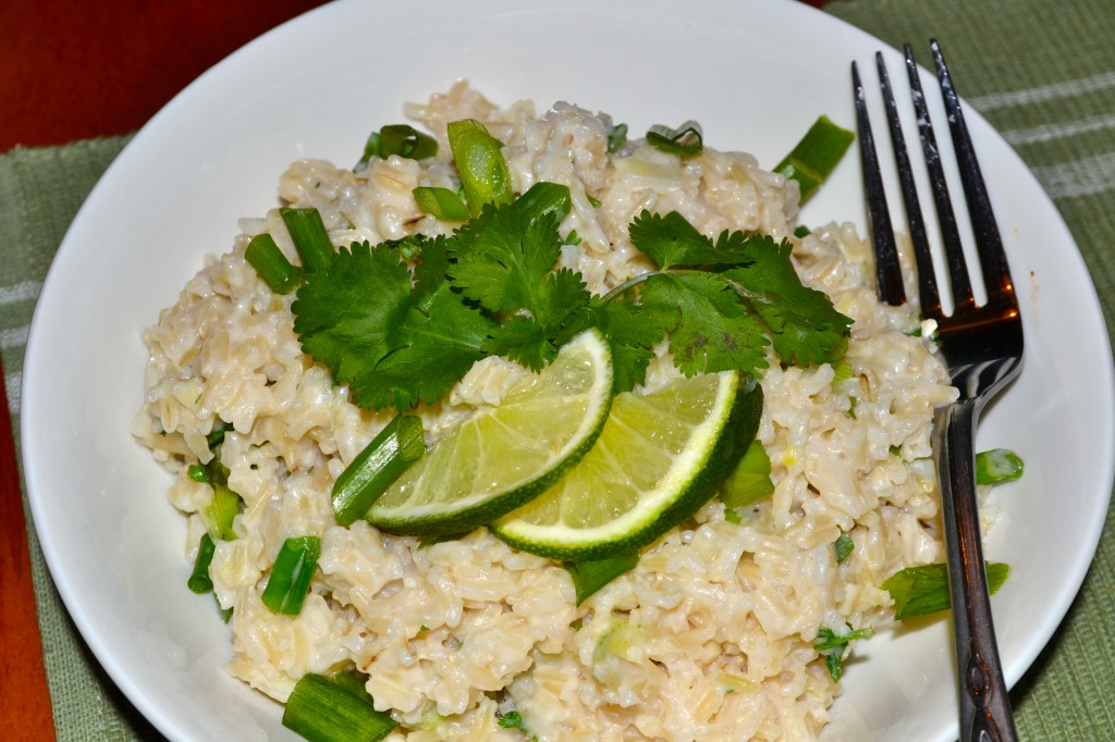 "Coconut Cilantro Lime Rice - What the ""Forks"" for Dinner"