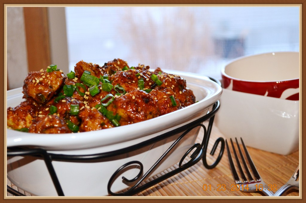 Hoisin Meatballs