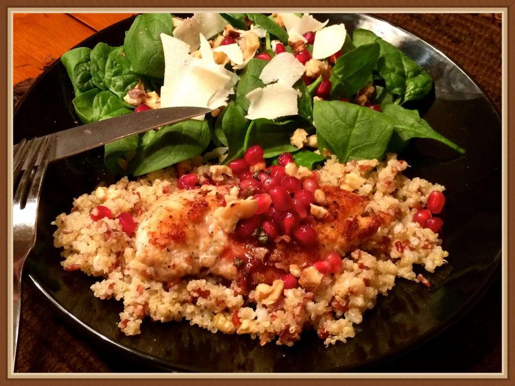 Pom Chicken Plate