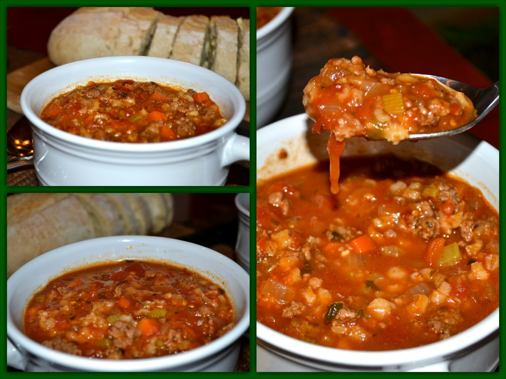Hamburger Soup Collage