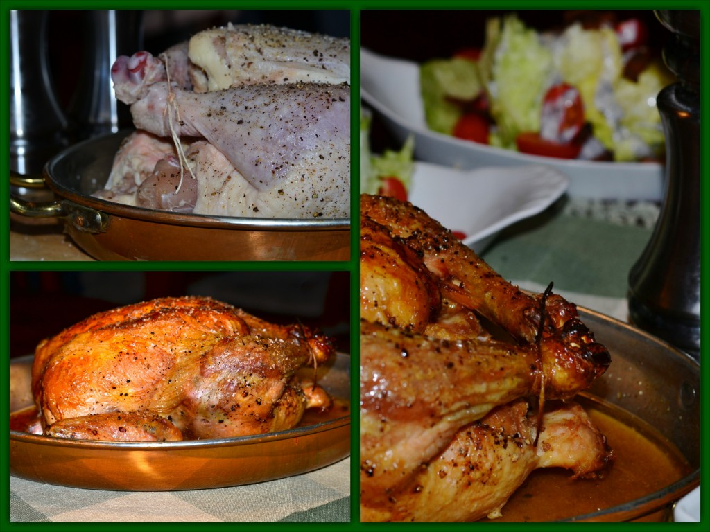 Roast Chicken Collage