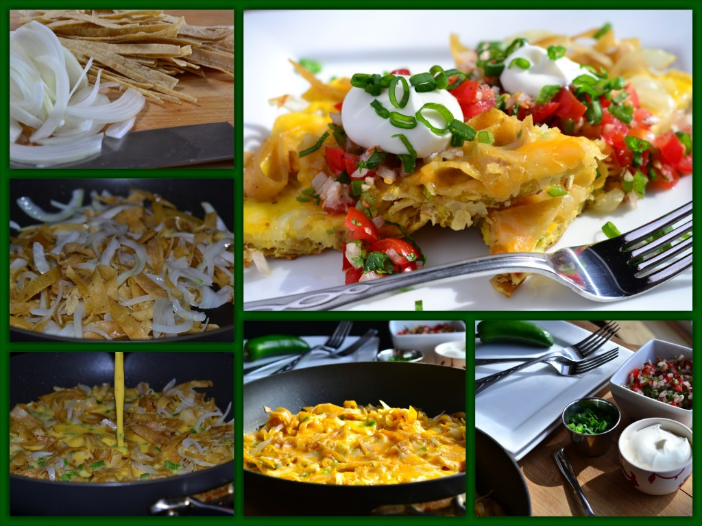 Fiesta Egg Skillet Collage