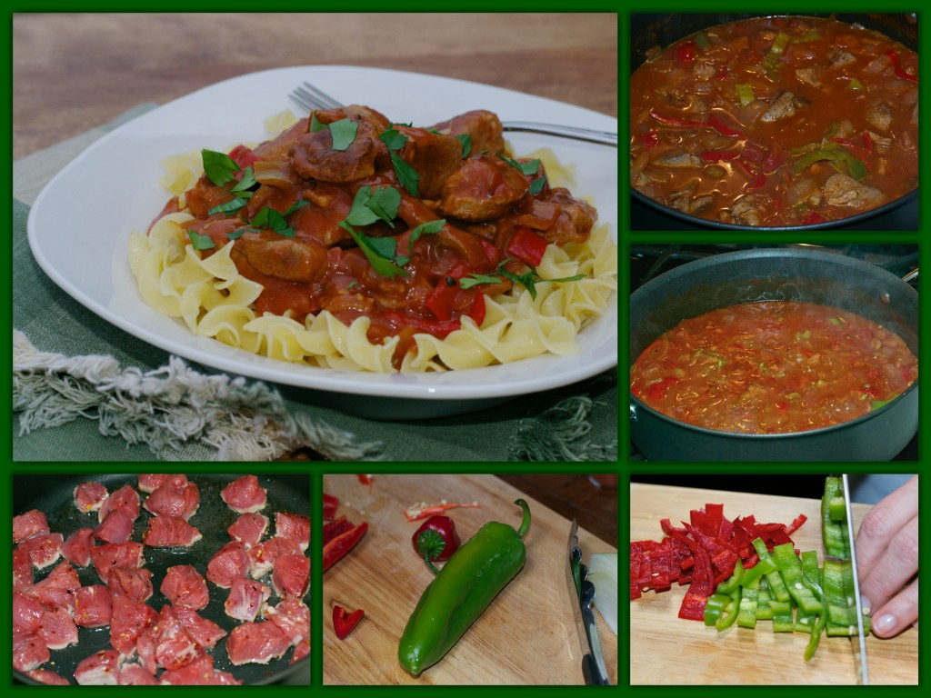 Hungarian Goulash Collage