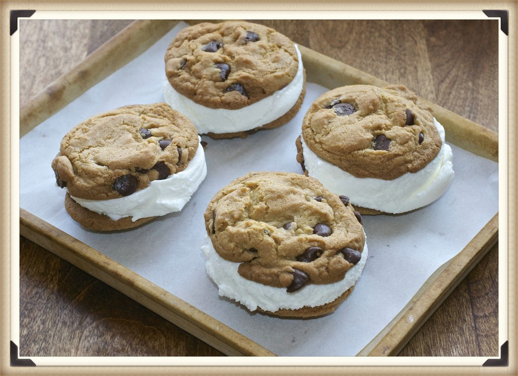 "Mini Chocolate Chip Ice Cream Sandwich - What the ""Forks ..."