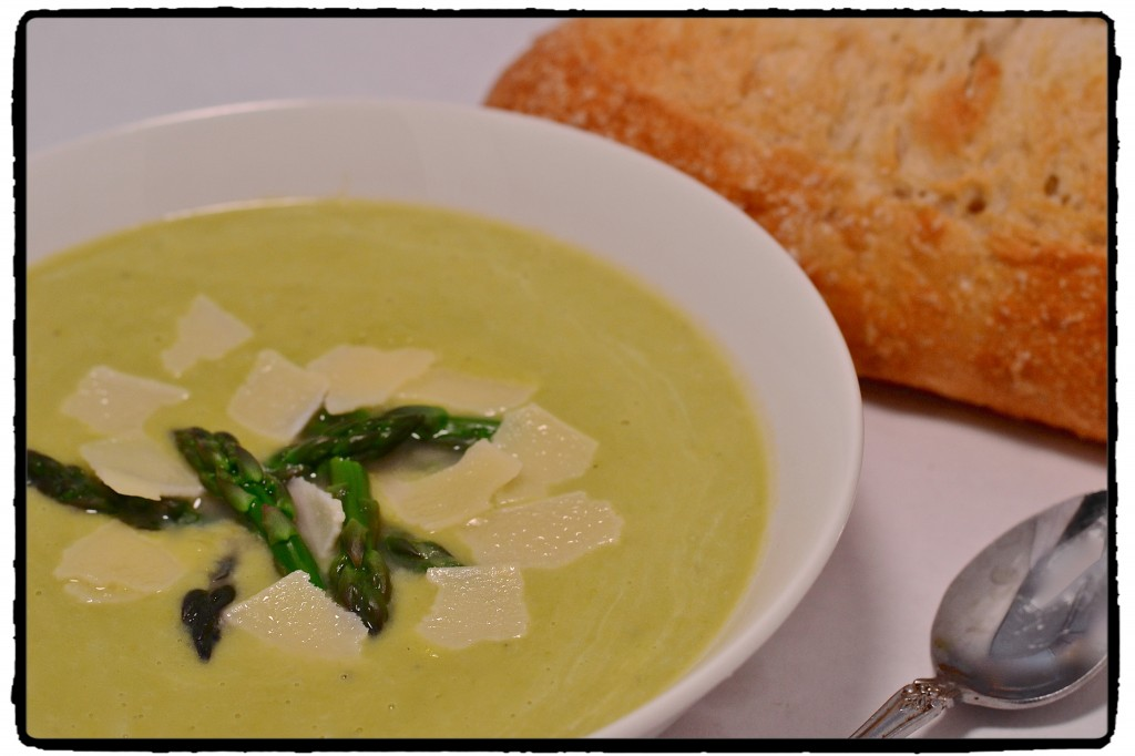 Cream of Asparagus Soup 1
