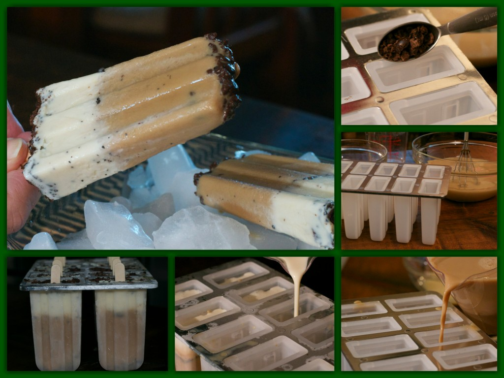 Espresso Bean Popsicles Collage