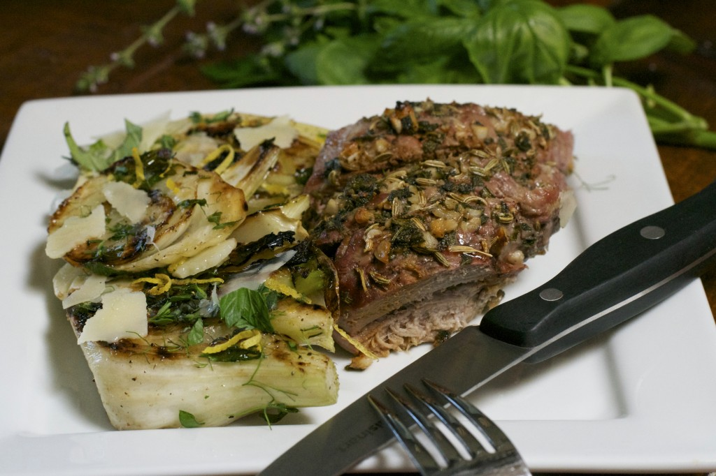 "Grilled Fennel Salad-What the ""Forks"" for Dinner?"