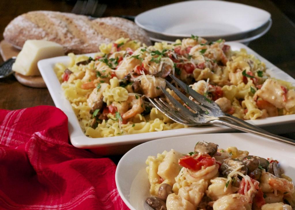 Monterey Seafood Pasta 1