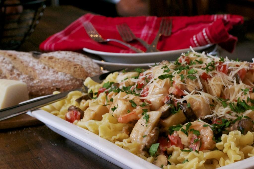 Monterey Seafood Pasta