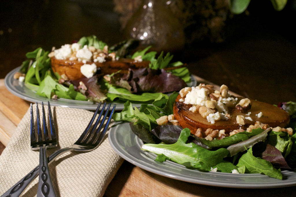 Roasted Pear Salad