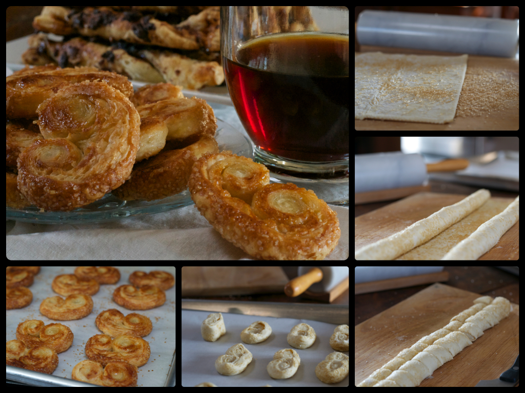 Mini Palmiers Collage