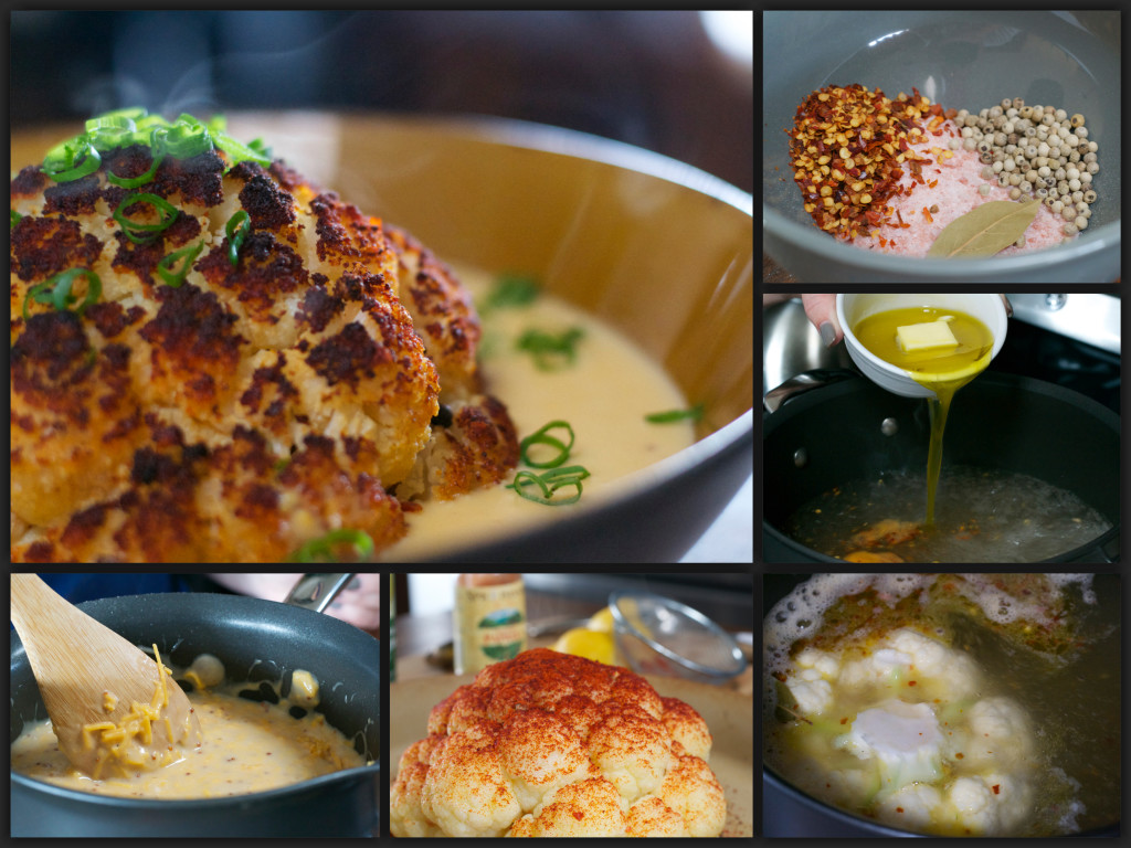 "Roasted Cauliflower with Cheddar Beer Cheese - ""What the ""Forks&quo..."