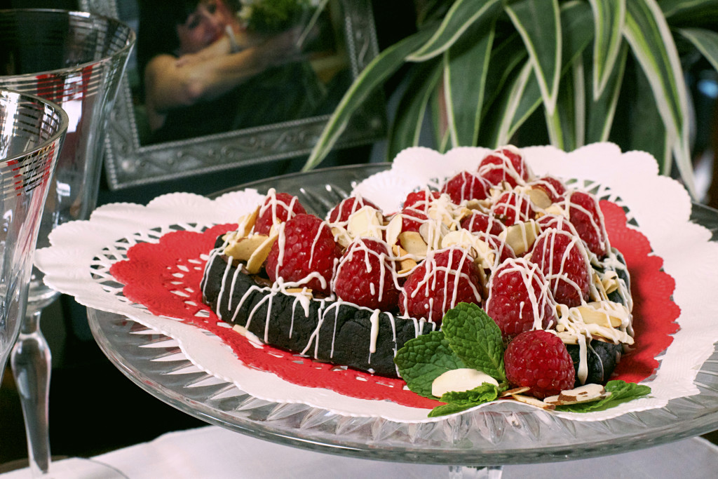Dark Chocolate Raspberry Cookie