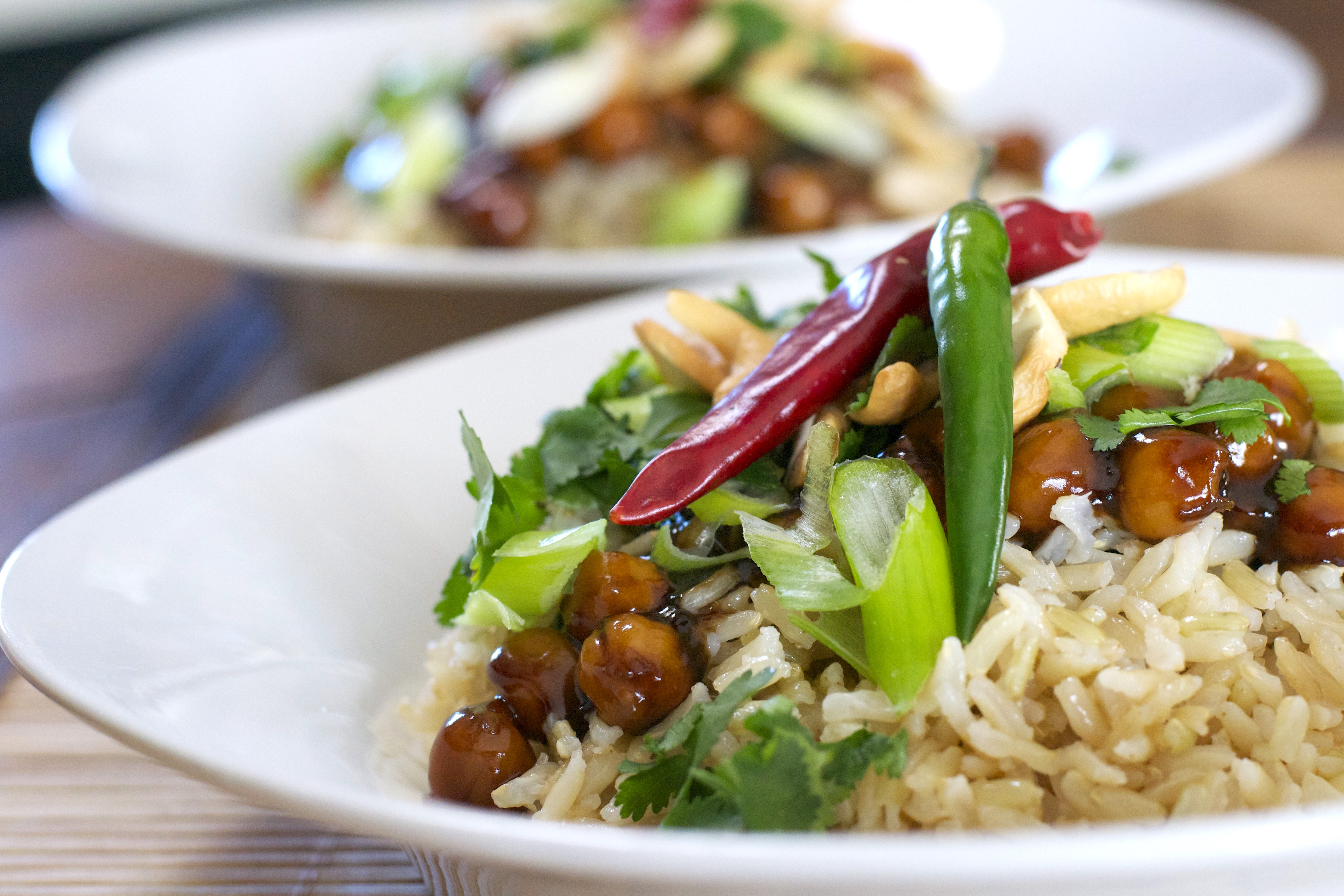 Kung Pao ChickpeasWhat the Forks for Dinner?