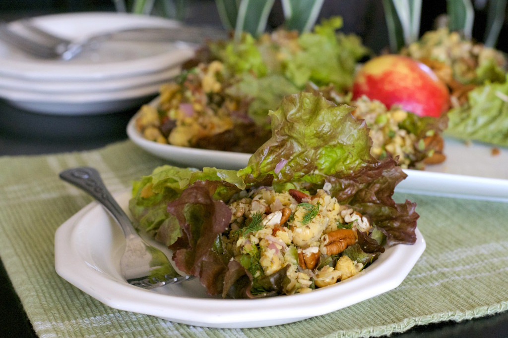 Chickpea Salad With Apples and Pecans 2