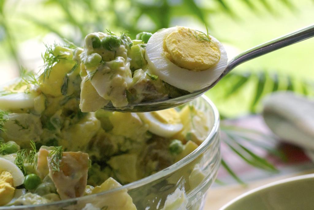 Baby Red Potato Salad 1