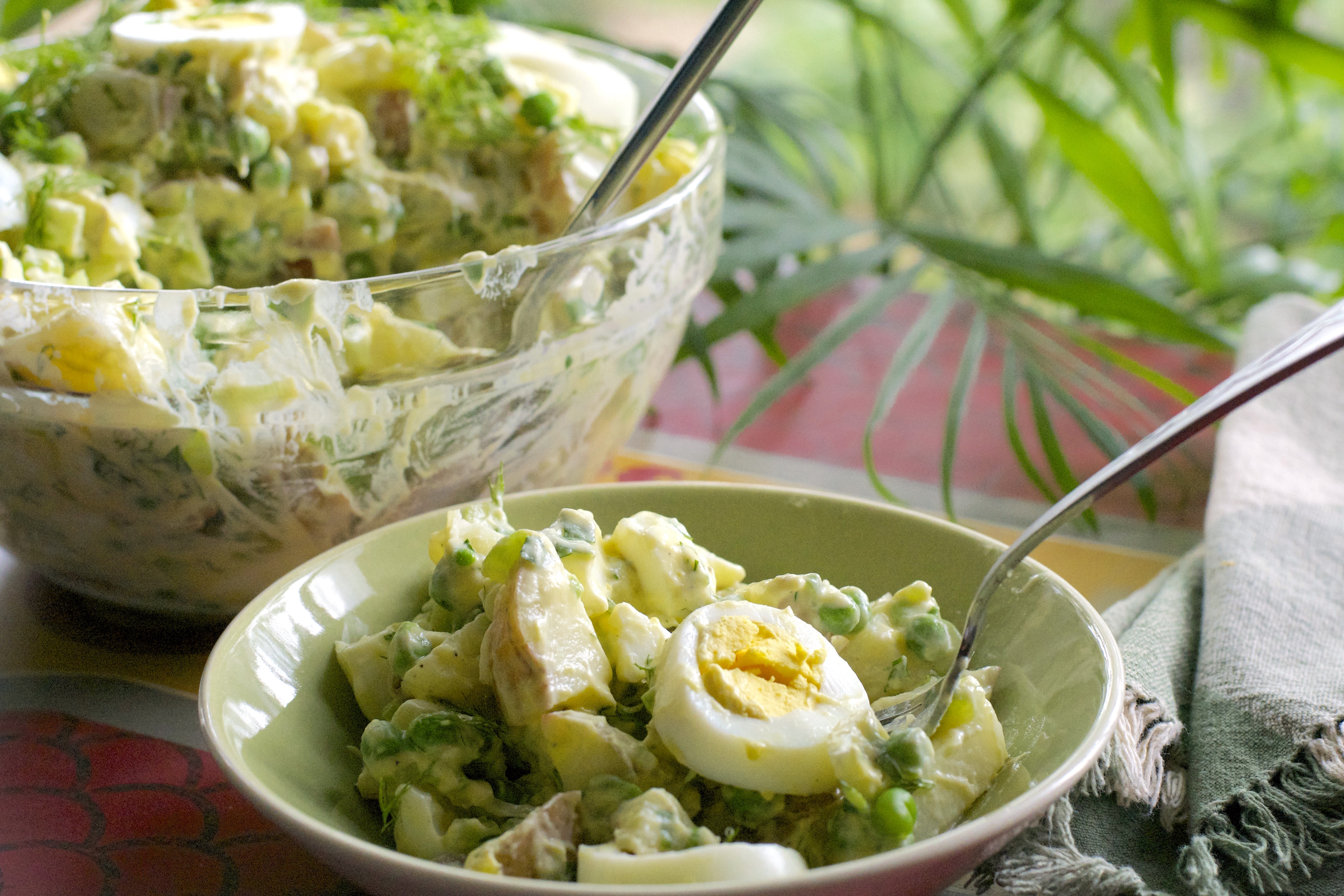 """Baby Red Potato Salad - """"What the """"Forks"""" for Dinner?"""