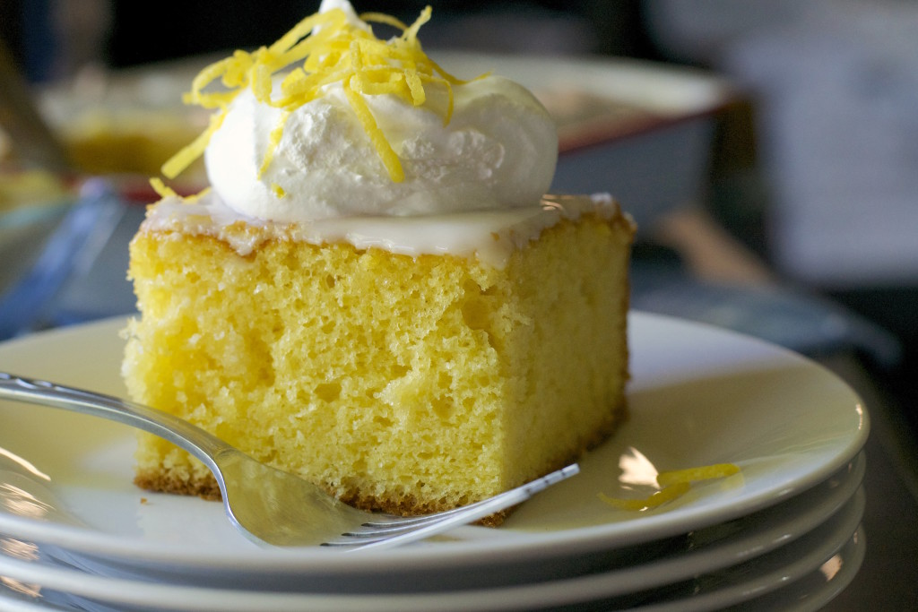 Lemon Ice Box Cake