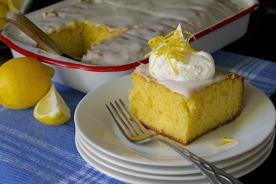 Lemon Ice Box Cake What The Forks For Dinner