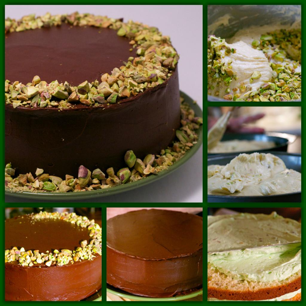 Watergate Ganache Cake Collage