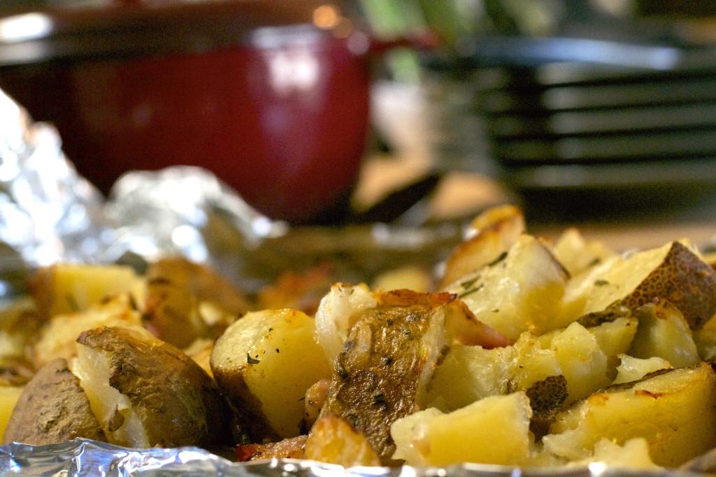 Rosemary Bacon Potatoes