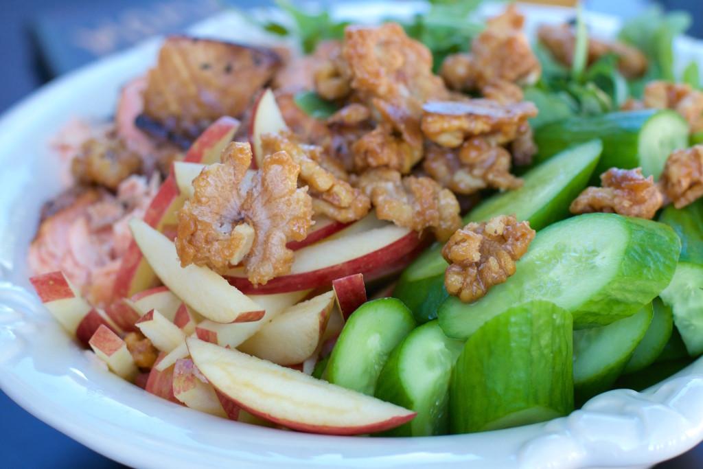 Applewood Smoked Salmon Salad 1