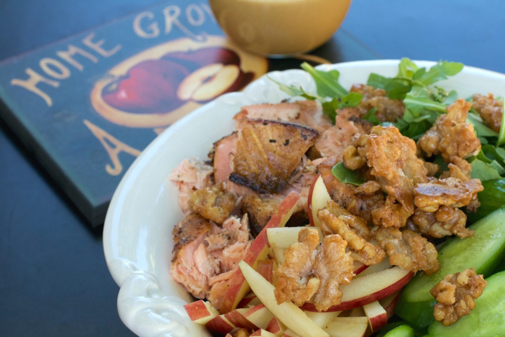 Applewood Smoked Salmon Salad 3
