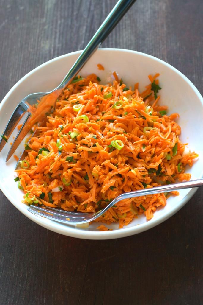 Dijon Carrot Salad