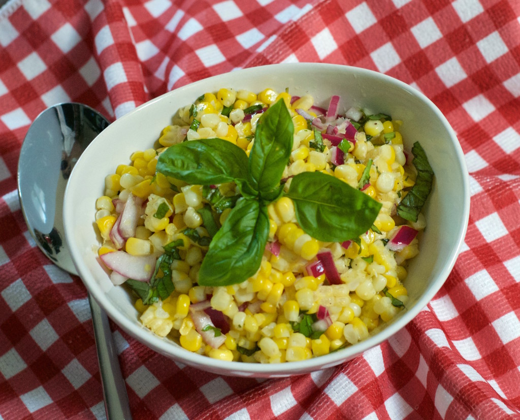 Basil Corn Salad