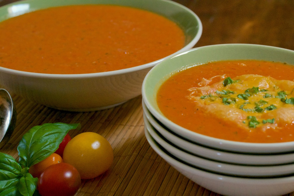 Fresh Roasted Tomato Soup 1