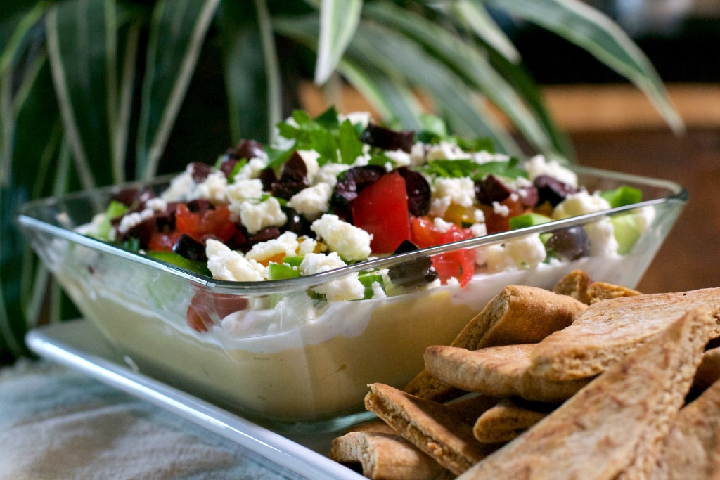 Greek 7 Layer Dip 4