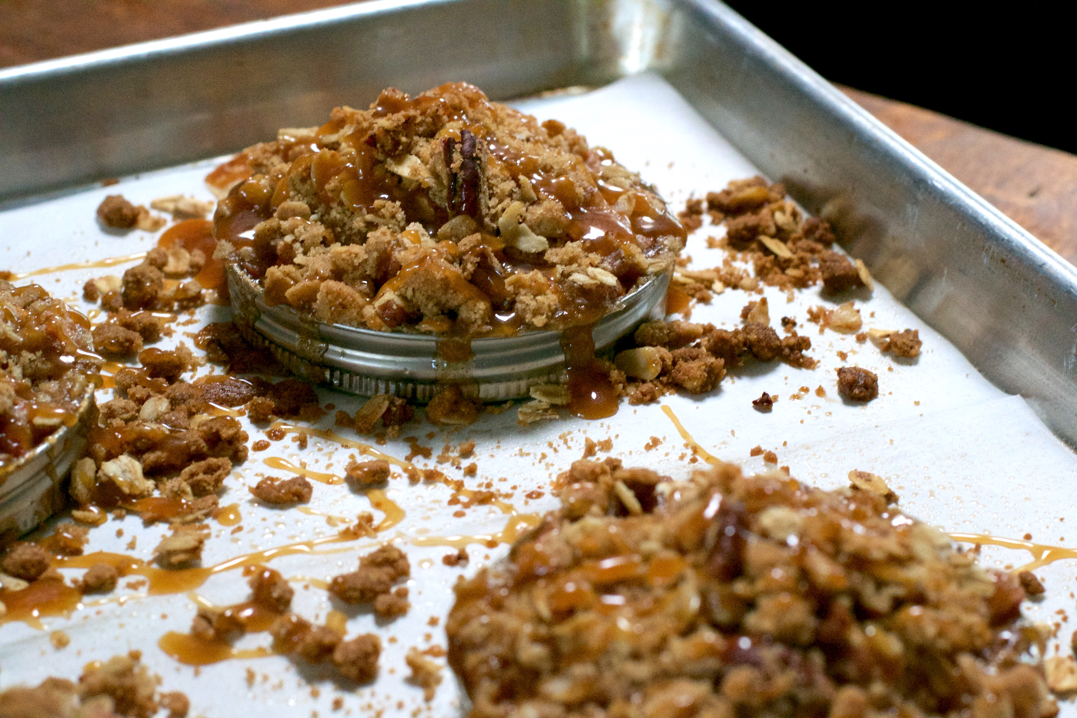 ... , but oatmeal is a key crisp ingredient. No oatmeal – not crisp