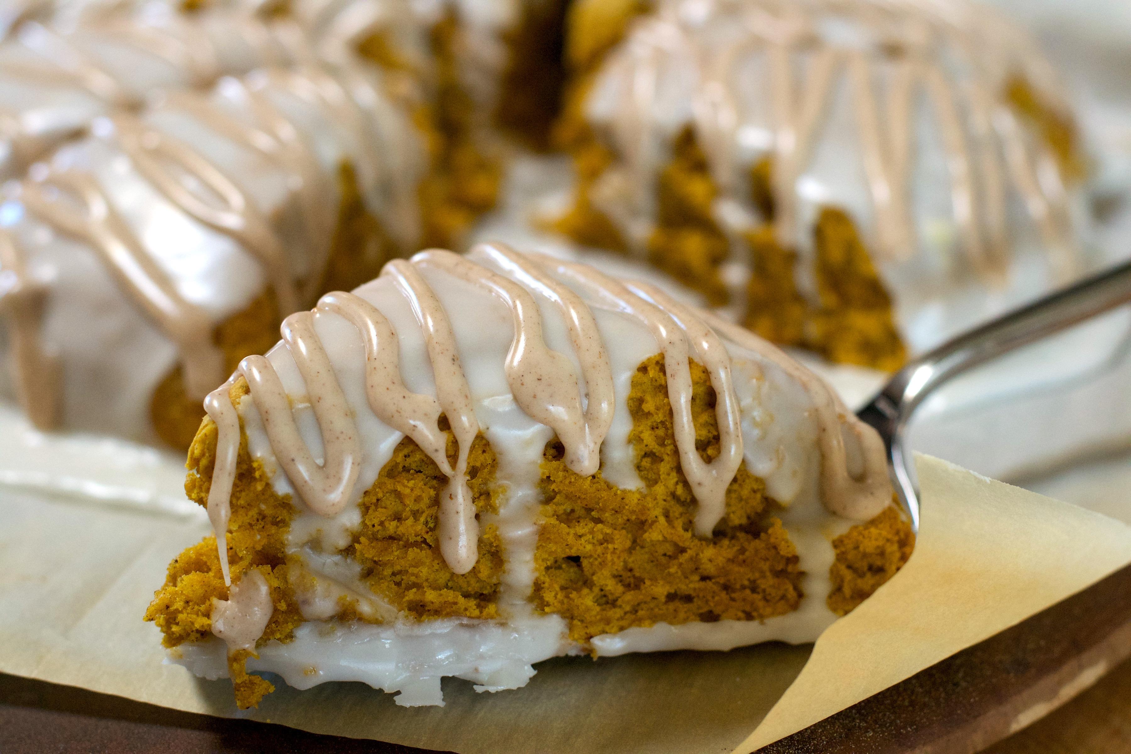 Starbucks Pumpkin Scones Copycat Recipe What The Forks