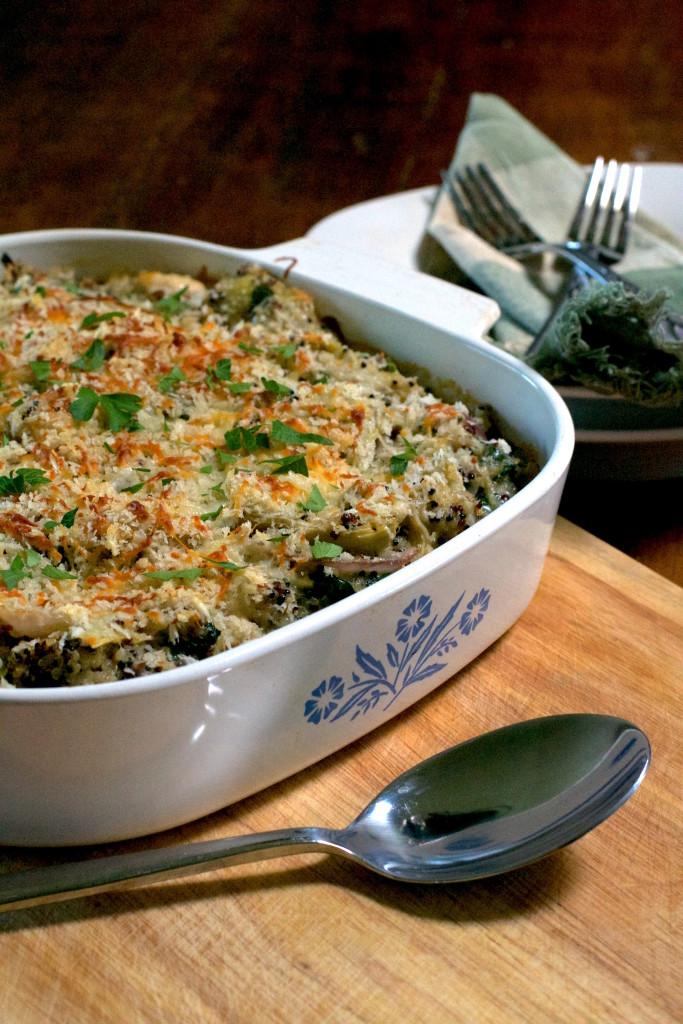 Spinach Artichoke Quinoa Casserole 2